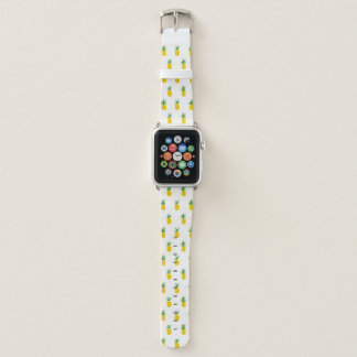 Goldene tropische Ananas Apple Watch Armband