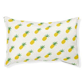 Goldene tropische Ananas Haustierbett