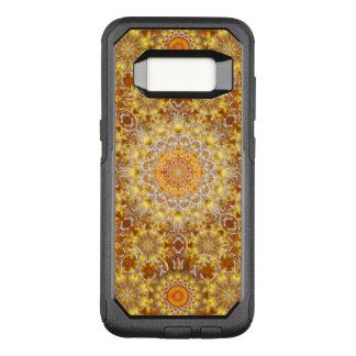 Goldene Visions-Mandala OtterBox Commuter Samsung Galaxy S8 Hülle