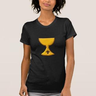 """Goldener """"3-D"""" Chalice T-Shirt"""