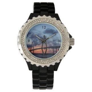 Goldener Abend bei Arthur Ravenel Armbanduhr
