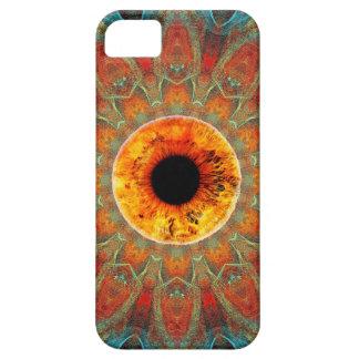 Goldener Augen-drittes Auge iPhone 5 Kasten iPhone 5 Etuis
