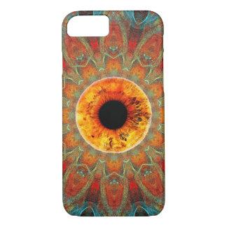 Goldener Augen-drittes Auge iPhone 7 Kasten iPhone 7 Hülle