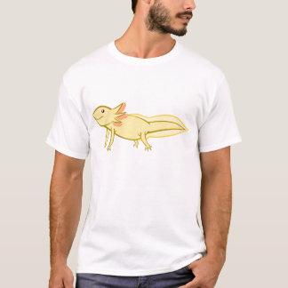 Goldener Axolotl T-Shirt