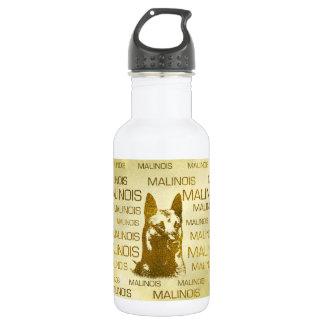 Goldener Belgier Malinois - Mechelaar - Maligator Trinkflasche