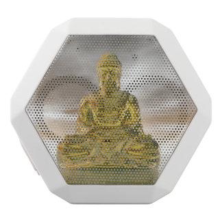 Goldener Buddha - 3D übertragen Weiße Bluetooth Lautsprecher