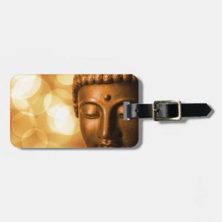 Goldener Buddha Gepäckanhänger