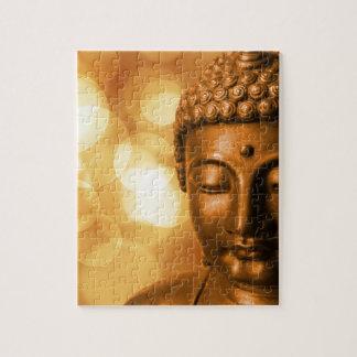 Goldener Buddha Puzzle