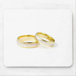 Goldener Chic-stilvolles Brautparty Mauspads