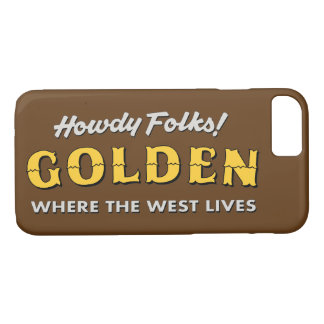 Goldener Colorado iPhone Kasten iPhone 8/7 Hülle