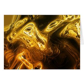 Goldener Glanz Karte