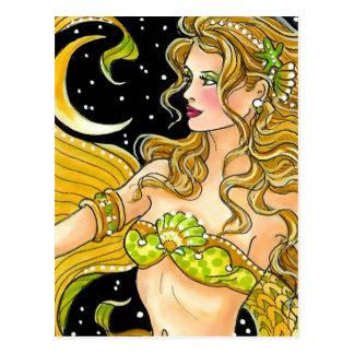 Goldener Halbmond Postkarte