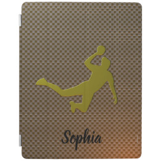 Goldener Handball iPad Smart Cover
