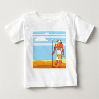 Goldener Hauptvektor ägyptischer Gott-vektorEagles Baby T-shirt