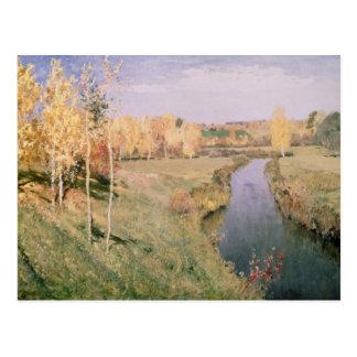 Goldener Herbst, 1895 Postkarte