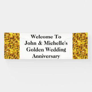Goldener Hochzeitstag Special | personifizieren Banner