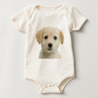 Goldener Labrador retriever-Welpe Baby Strampler