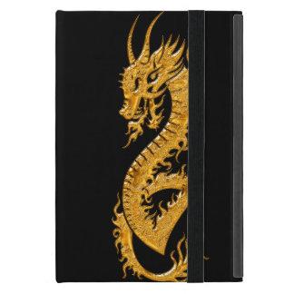 Goldener orientalischer Drache 02 iPad Mini Etui