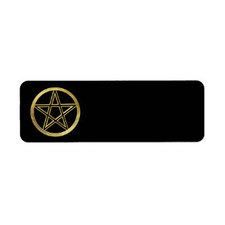 Goldener Pentagram