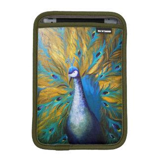 Goldener Pfau (Kunst Kimberlys Turnbull) Sleeve Für iPad Mini