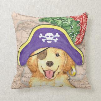 Goldener Pirat Kissen