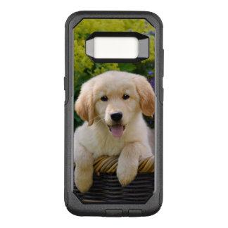 Goldener Retriever-Baby-Hundewelpen-lustiges OtterBox Commuter Samsung Galaxy S8 Hülle