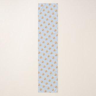 Goldener Retriever-Malerei - niedliche Schal