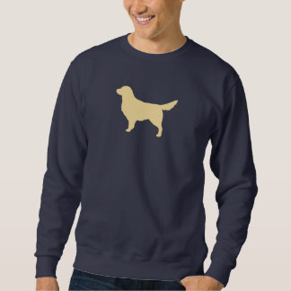 Goldener Retriever-Silhouette Sweatshirt