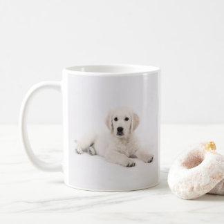 Goldener Retriever-Welpe/Ihre HundeFoto-Tasse Kaffeetasse