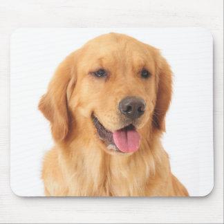Goldener Retriever-Welpen-HundeLiebe Mousepad