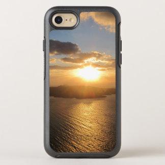 Goldener Santorini Sonnenuntergang OtterBox Symmetry iPhone 8/7 Hülle