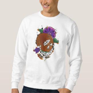 goldener Schädel Sweatshirt