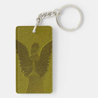 Goldener Schutzengel Schlüsselanhänger