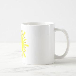 Goldener Sonnenschein Tasse