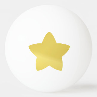 Goldener Stern Ping-Pong Ball