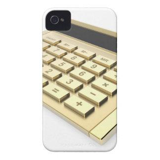 Goldener Taschenrechner Case-Mate iPhone 4 Hülle