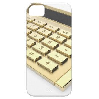 Goldener Taschenrechner Etui Fürs iPhone 5
