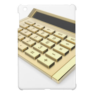 Goldener Taschenrechner iPad Mini Hülle