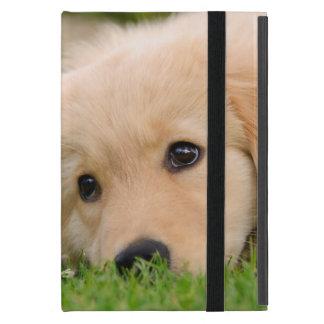 Goldener träumender Retriever-niedlicher Welpe - Schutzhülle Fürs iPad Mini
