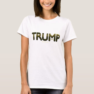 Goldener Trumpf T-Shirt