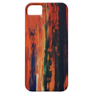 Goldener Villentelefonkasten iPhone 5 Case