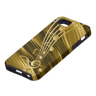 Goldener Violinenschlüssel iPhone 5 Etuis