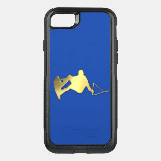 Goldener Wakeboarder OtterBox Telefon-Kasten