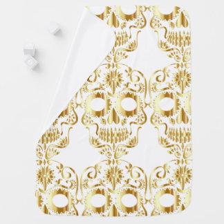 Goldener Zuckerschädel-Entwurf Puckdecke