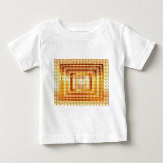 GOLDenergie KUNST - Lächeln genießt Anteil-Freude Baby T-shirt