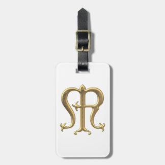 """Goldenes """"3-D"""" Jungfrau-Mary-Symbol Kofferanhänger"""
