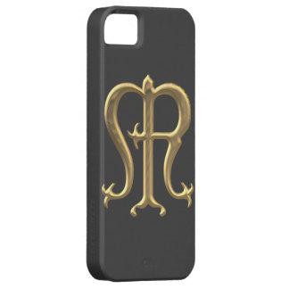"Goldenes ""3-D"" Jungfrau-Mary-Symbol Schutzhülle Fürs iPhone 5"