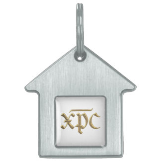 "Goldenes ""3-D"" XPC-Symbol Tiermarke"