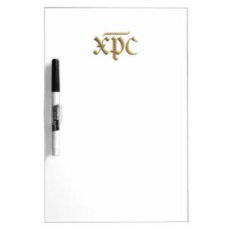 """Goldenes """"3-D"""" XPC-Symbol Trockenlöschtafel"""