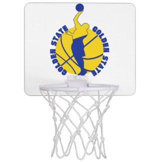 Goldenes Band Mini Basketball Netz